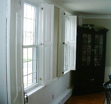 Colonial Shutterworks Handcrafted Raised Panel Shutters