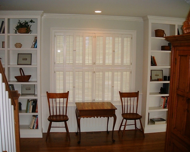 Louvered Interior Shutters Colonial Shutterworks