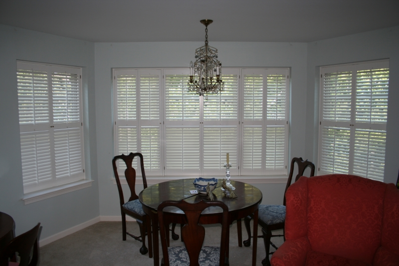 ... Louvered Interior Shutters ...