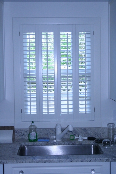 Attractive ... Louvered Interior Shutters ...