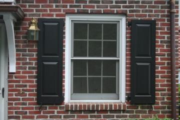 Colonial shutterworks for Vinyl vs wood exterior shutters