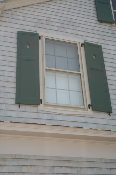 Raised Flat Panel Exterior Colonial Shutterworks