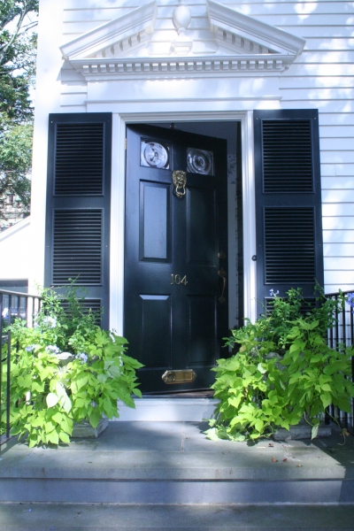 ... Exterior Louvered Shutters ...