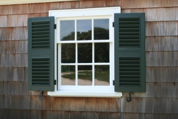 Exterior Louvered Shutters